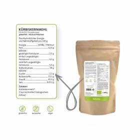 Bio Kürbiskernmehl biokontor 500g Inhaltsstoffe