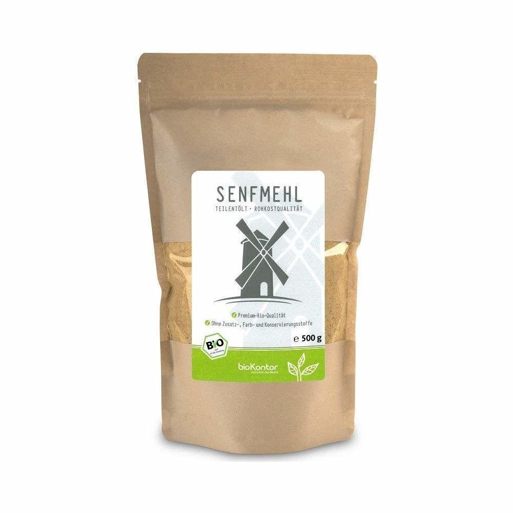 Senfmehl Bio 500g