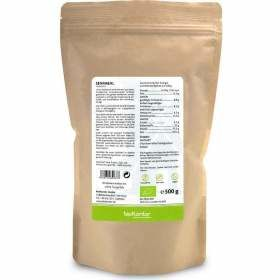Senfmehl Bio 500g Rückseite