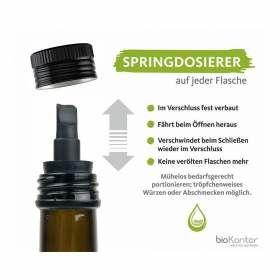 Mandelöl nativ kaltgepresst mit Springdosierer bioKontor