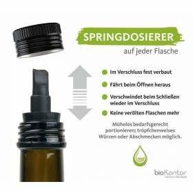 Bio Nachtkerzenöl mit Springdosierer
