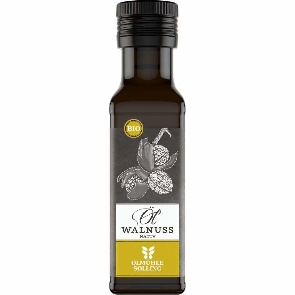 Bio Walnussöl nativ, kaltgepresst, Ölmühle Solling