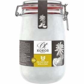 Kokosöl nativ Bio Bügelglas