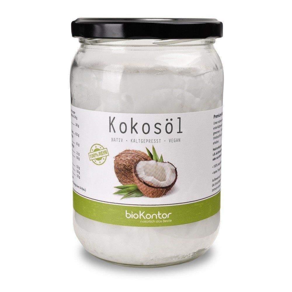 Kokosöl nativ 500ml Bio-Qualität, bioKontor