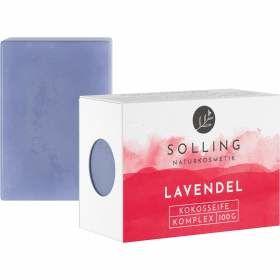 Lavendelseife Kokosseife 100g von Solling Naturkosmetik