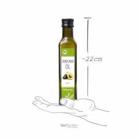 Bio Avocadoöl 250ml bioKontor, Größe der Flasche