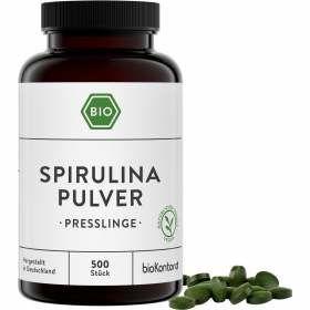 Bio Spirulina Presslinge 500 Stück von bioKontor