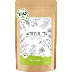 Bio Lavendelblüten aus kontrolliert biologischem Anbau 500 g