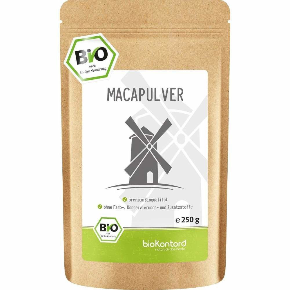 Macapulver bio 250g aus Peru