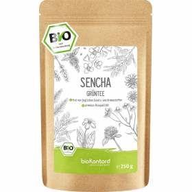 Bio Sencha Tee, grüner Tee aus kontrolliert biologischem Anbau 250 g