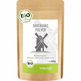 Bio Shatavaripulver aus kontrolliert biologischem Anbau 250 g in bester Bioqualität