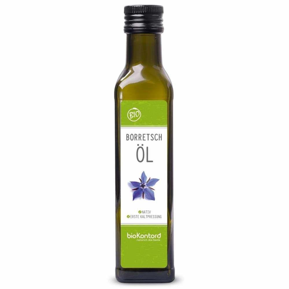 Borretschöl nativ kaltgepresst 250ml Bio-Qualität, bioKontor