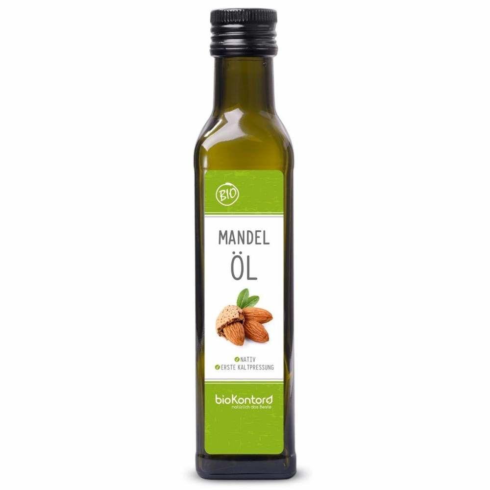 Mandelöl nativ kaltgepresst 250ml Bio-Qualität, bioKontor