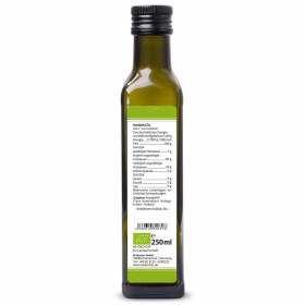 Mandelöl nativ kaltgepresst 250ml Rückseite Bio-Qualität, bioKontor