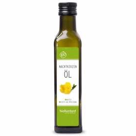 Bio Nachtkerzenöl 250ml nativ kaltgepresst bioKontor