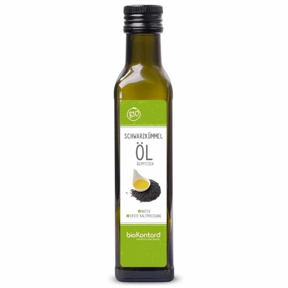 Schwarzkümmelöl ägyptisch nativ kaltgepresst 250ml Bio-Qualität, bioKontor