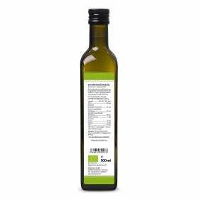 Bio Schwarzkümmelöl ungefiltert 500ml aus kontrolliert biolgoischem Anbau von bioKontor, Nährwertangaben