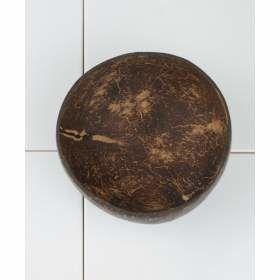 nachhaltige Kokosnusschale von innen - jede Schale ein Unikat