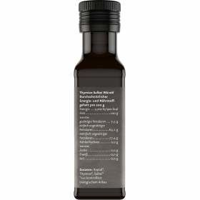 Bio Würzöl Thymian Salbei 100ml Nährstoffgehalt