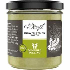Würzöl Ingwer Lemon bio 100g aus kontrolliert biologischem Anbau