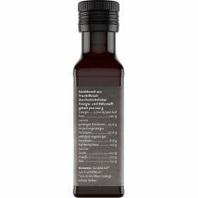 Sanddornfruchtfleischöl Bio 100ml Nährstoffgehalt