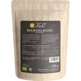 Mandelmehl teilentölt bio 500g Nährstoffe Verwendung