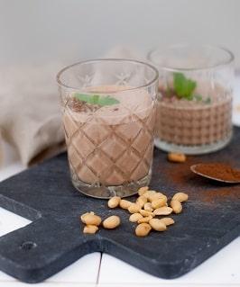 Dessertmilch mit Ashwagandhapulver