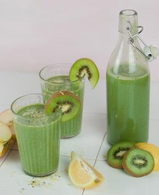 Grüner Smoothie mit bio Gerstengraspulver von bioKontor