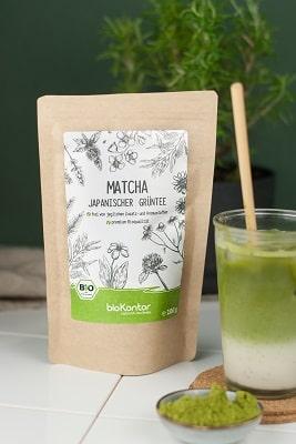 Bio Matcha Tee aus kontrolliert biologischem Anbau von bioKontor