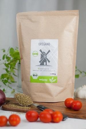 Bio Oregano gerebelt von bioKontor - lecker zu mediterranen Speisen