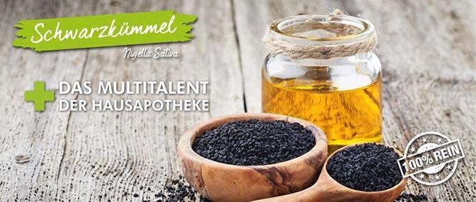 Bio Schwarzkümmelöl mit Nigella Sativa Samen
