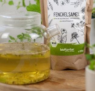Bio Fencheltee von bioKontor, Fencheltee mit Honig