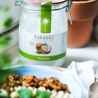 Kokosöl Rezept - bio,vegan,low-carb